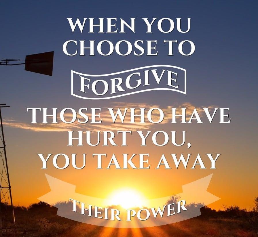 How can I forgive?
